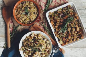 vegan stuffing 3 ways
